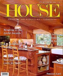 House magzine cover